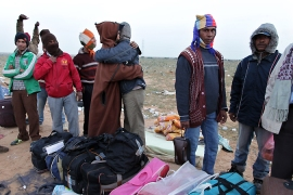 Migrants 'fleeing Libya' drown off coast