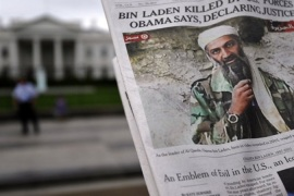 Osama bin Laden killed by US forces