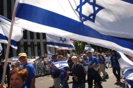 The 'pro-Israel' right loses it