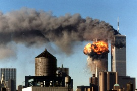 Osama bin Laden gained international prominence following the 9/11 attacks on the United States.