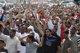 Bahrain opposition rally draws thousands