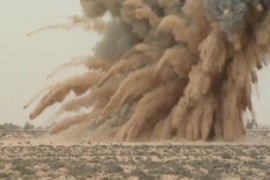 Libya at risk from unexploded munitions