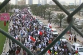 Bahrain military court resumes trials
