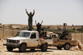 Libyan rebels wrest western mountain villages