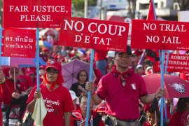 Thai Red Shirts focus on local politics