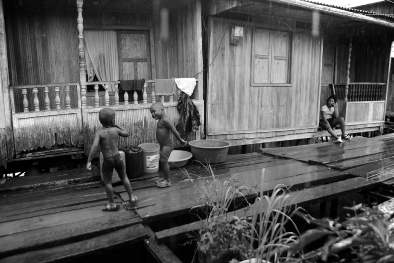 They are residents of Buenaventura on Colombia(***)s Pacific Coast [Oliver Schmieg]