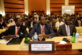 Sudan signs pact with Darfur group