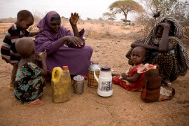 Genocidal politics and the Somali famine