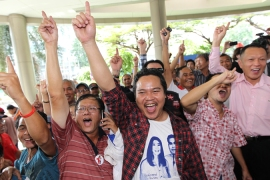 Rural Thais roar to political forefront