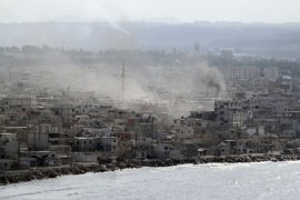 Syrian forces 'shell Latakia' for third day