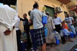 Tripoli faces severe water shortage