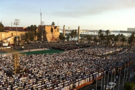 Tripoli celebrates first post-Gaddafi Eid