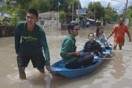 Monsoon rains swamp much of Asia