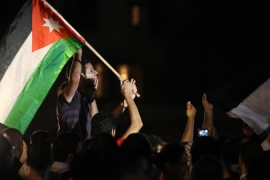 Jordanians protest against ties with Israel