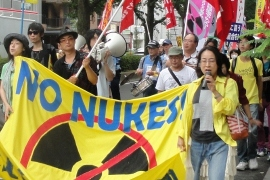 Fighting for a radiation-free Japan