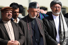 Karzai vows to continue Afghan peace effort