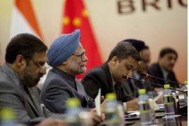 BRICs as mortar for the house Europe built?