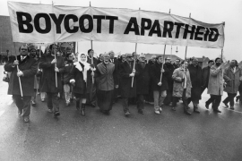 South Africa should support boycott of Israel