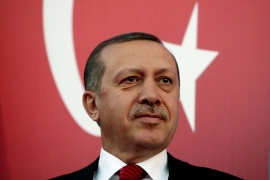 Erdogan brands Israel a regional 'threat'