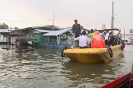 Thailand braces for further flooding damage