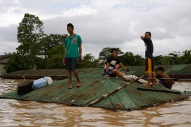 Philippines hit by second typhoon in a week