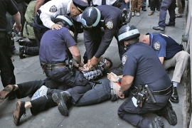 Dozens arrested in NY 'Occupy' protests