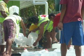 Tuvalu faces drinking water emergency