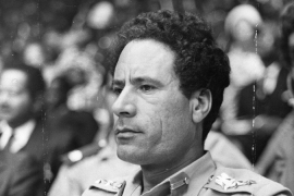 In Pictures: A look back at Gaddafi's reign