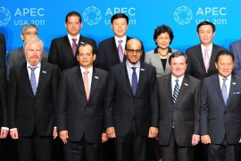 APEC ministers press Europe to act fast