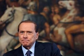 Berlusconi denies wrongdoing in sex case