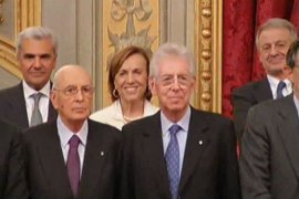Italy's new government sworn in