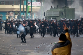The two fists of Egypt's crackdown