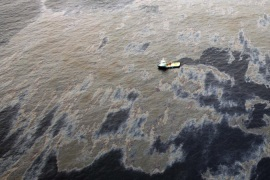 Chevron's previous spill leaked 2,400 to 3,000 barrels, resulting in an $11 billion civil lawsuit [AFP]