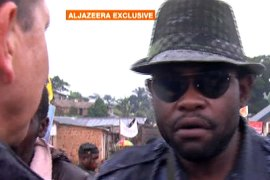 Sheka founded the Nduma Defence of Congo militia group, which was active in DRC's restive North Kivu province [File: Al Jazeera]
