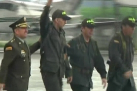 Colombian FARC hostage freed after 12 years