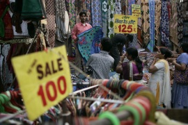 Indian growth at lowest level in two years