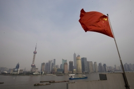 Chinese growth slows to near three-year low