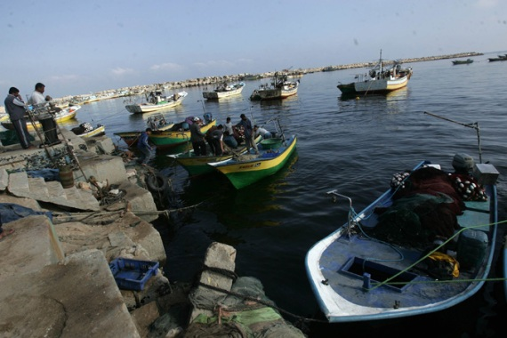 In 2016, there were 126 incidents when the Israeli navy fired at Gaza Palestinians fishermen and their boats [Abid Katib/Getty Images]
