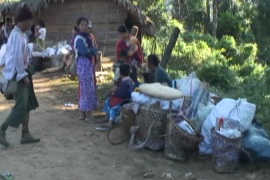 Kachin people in Myanmar face food shortages