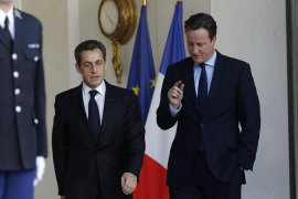 Britain and France differ on eurozone future