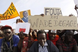 Calls for calm ahead of polls in Senegal
