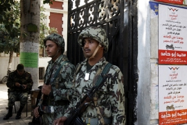 Egypt's army asserts constitutional control