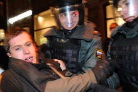 Putin says US encouraged Russia protesters