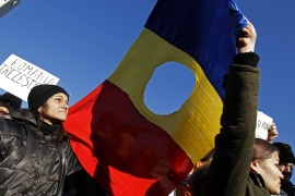 Wave of discontent grips Romania