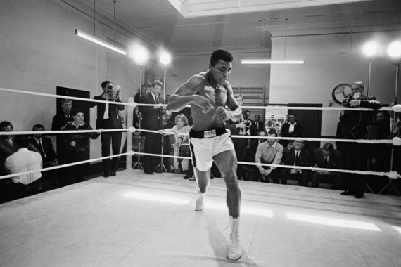 Ali suffered a decades-long struggle with Parkinson's disease [R. McPhedran/Hulton A