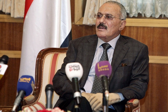 In February, Yemeni President Ali Abdullah Saleh handed over power to Abd Rabbuh Mansur Al-Hadi [REUTERS]