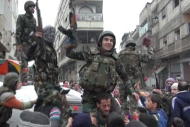 More army defectors join Syria opposition