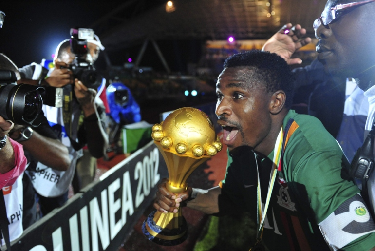 Fresh from Africa Cup of Nations victory over Ivory Coast, Zambia rise 28 places to No. 43. The Copper Bullets broke into the top 50 for the first time in 11 years winning on penalties following a goalless final in Libreville [EPA]