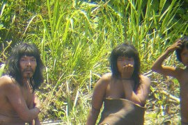 Peru struggles to protect Indian tribe