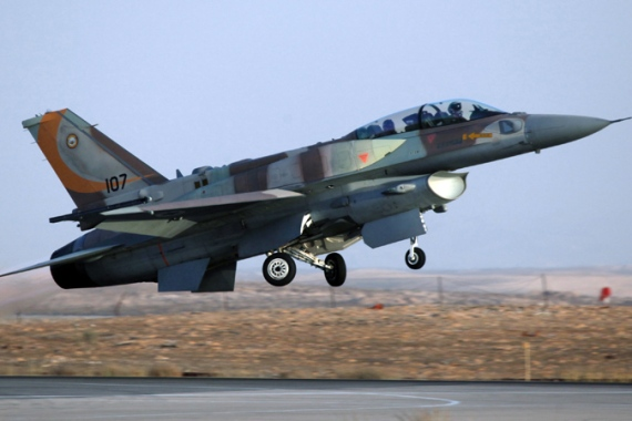 Israeli jets regularly fly missions over Lebanese airspace [AP]